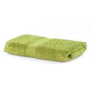 Bavlnený uterák DecoKing Mila 30 × 50 cm svetlozelený