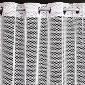 Záclona DecoKing ELLIE 140 × 250 biela