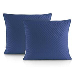 Povlaky na polštáře DecoKing Messli modré
