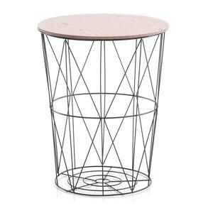 Konferenční stolek Carmina I přírodní/černý
