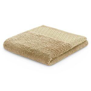 Bavlněný ručník DecoKing Andrea béžový
