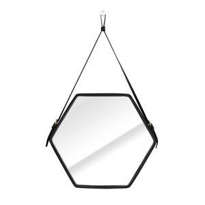 Nástěnné zrcadlo Ebi černé