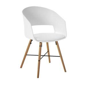 Jídelní židle Lena bílá