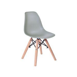 Dětská židle  Paris Kids - šedá
