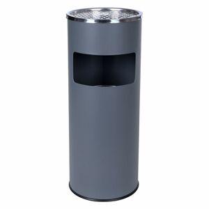 Vonkajší popolník ROY 30 L sivý
