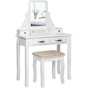 Toaletní stolek Taťána bílý