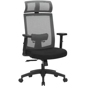 Kancelářská židle Oban šedá