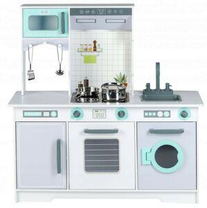 Dřevěná kuchyně s příslušenstvím Eco Toys - falso