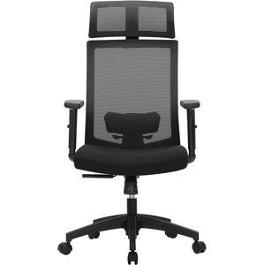 Kancelářská židle Frank černá