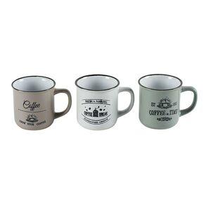 Súprava keramických hrnčekov COFFEE