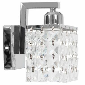 Nástěnná lampa Crystal APP543-1W chrom