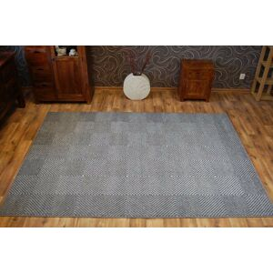 Kusový koberec METEO MORAK sivý
