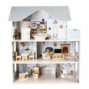 Domeček pro panenky s nábytkem Residence Emma Ecotoys