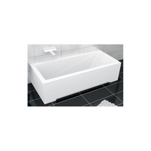 Obdélníková vana BESCO MODERN 140x70cm bílá + zdarma sifon