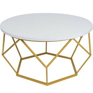 Konferenčný stolík DIAMENT zlatý