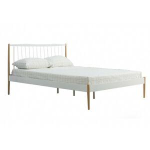 Kovová postel Fiona 120x200 dvoulůžko - bílé