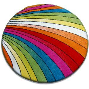 Guľatý koberec PAINT ROSCA farebný
