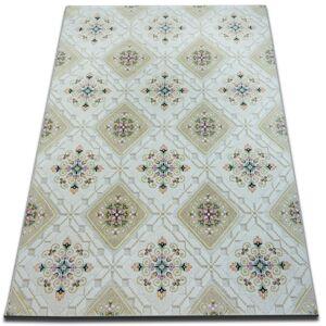 Kusový koberec ACRYLOVY YAZZ 7658 pudra