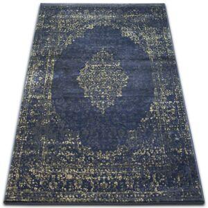 Kusový koberec DROP JASMINE 455 tmavomodrý