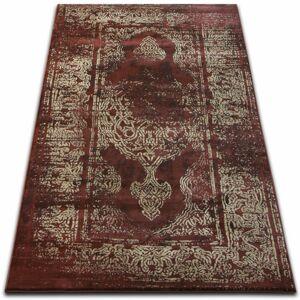 Kusový koberec DROP JASMINE 456 tmavobéžový