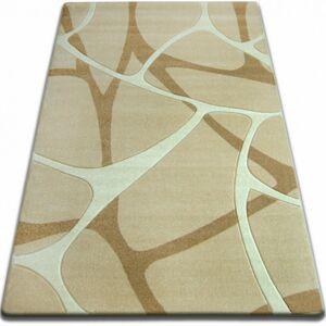 Kusový koberec FOCUS - F241 pavučina / česnekový / béžový / zlatý