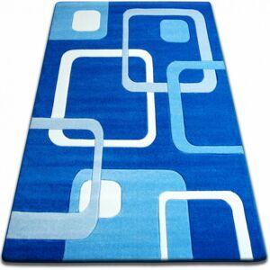 Kusový koberec FOCUS - F240 modrý čtverce