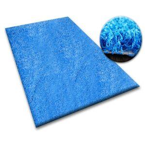 Kusový koberec SHAGGY Izebelie 5 cm modrý