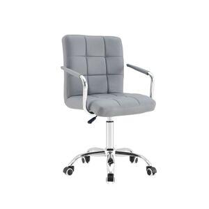 Otočná židle AMELIA šedá