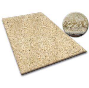 Kusový koberec SHAGGY Izebelie 5 cm cesnakový