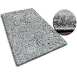Kusový koberec SHAGGY GALAXY šedý