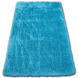 Kusový koberec SHAGGY MACHO DECLAN tyrkysový