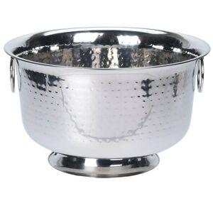 Chladicí mísa 37x22 cm stříbrná