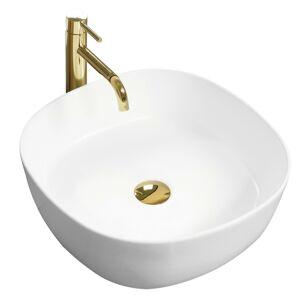 Keramické umývadlo Elena matné - biele