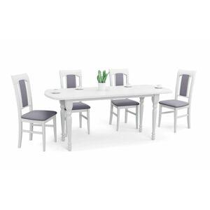 Rozkládací jídelní stůl Arnold bílý