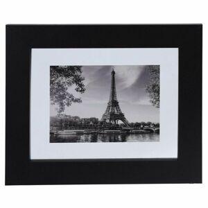 Elegantný nástenný rám 27 × 32 cm - čierny