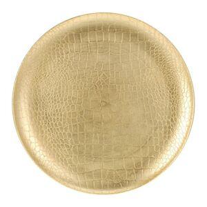 Dekorativní talíř zlatý