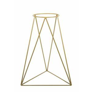 Moderní stojan na květináč 60 cm zlatý