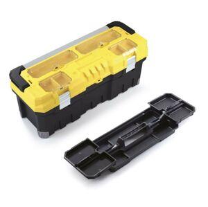 Kufr na nářadí TITANO PROFI 75,2x30x30,4 cm žluto-černý