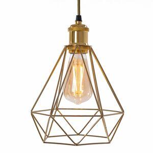 Stropní svítidlo Diament 392197 zlaté