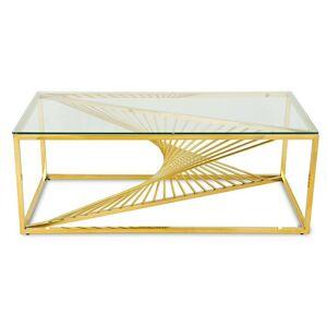 Konferenčný stolík LAINE zlatý