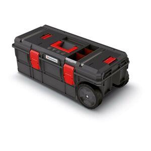 Kufr na nářadí X-BLOCK TECH 79,5x38x30,7 cm černo-červený