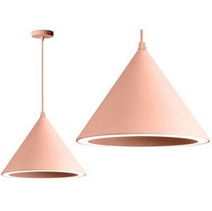 Stropní svítidlo BELLO LED světle růžová
