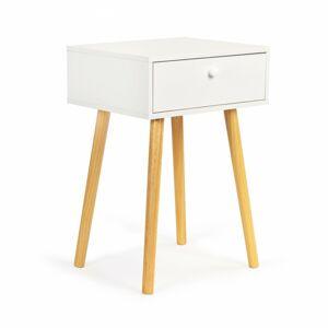 Noční stolek Cako bílý