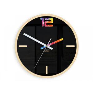 Nástěnné hodiny Etno černé