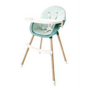 Dětská jídelní židlička 2v1 Colby EcoToys modrá