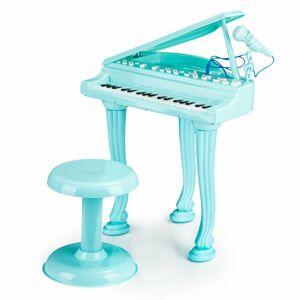 Dětské piano s mikrofonem Tinny modré