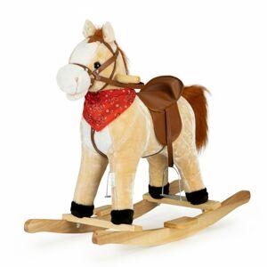 Houpací kůň se zvuky Pinkie hnědý