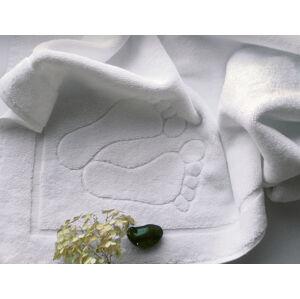 Koupelnový kobereček 50x70 cm bílý