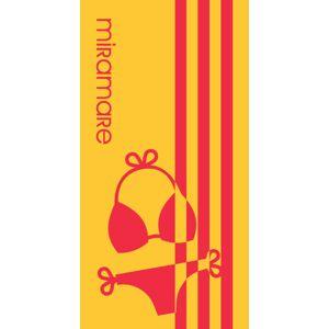 Plážová osuška Miramare 01 - 90x180 cm