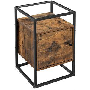 Noční stolek VASAGLE Glatal hnědý